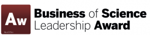 Business of Science Leadership Award